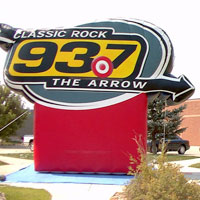 93.7 Radio Cold Air Inflatable