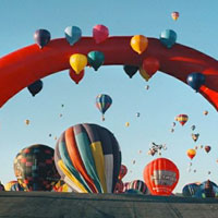 Albuquerque Inflatable Balloon Arch