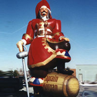 Captain Morgan Inflatable