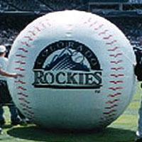 Colorado Rockies Inflatable