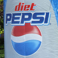 Diet Pepsi EZ-Carry Inflatable