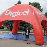 Digicel Inflatable Tent