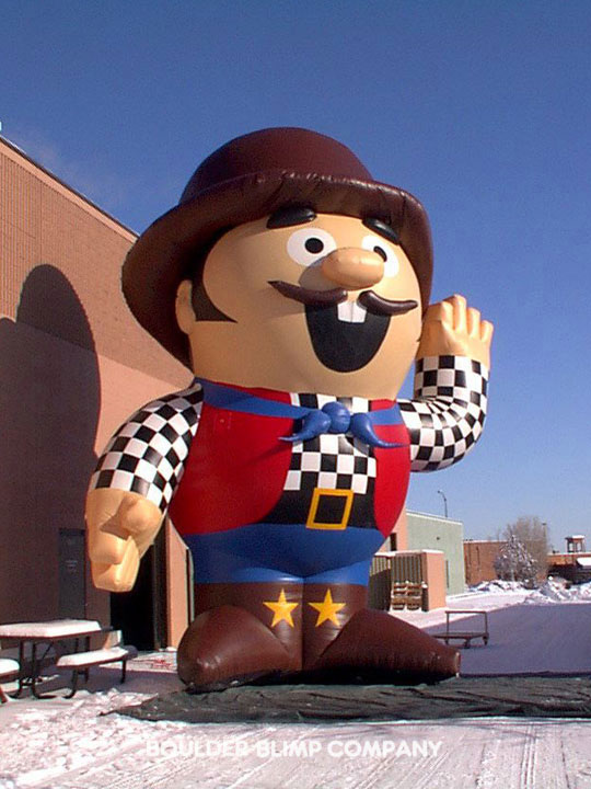 Characters Boulder Blimp Custom Inflatables Product
