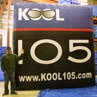 Kool Inflatable Billboard