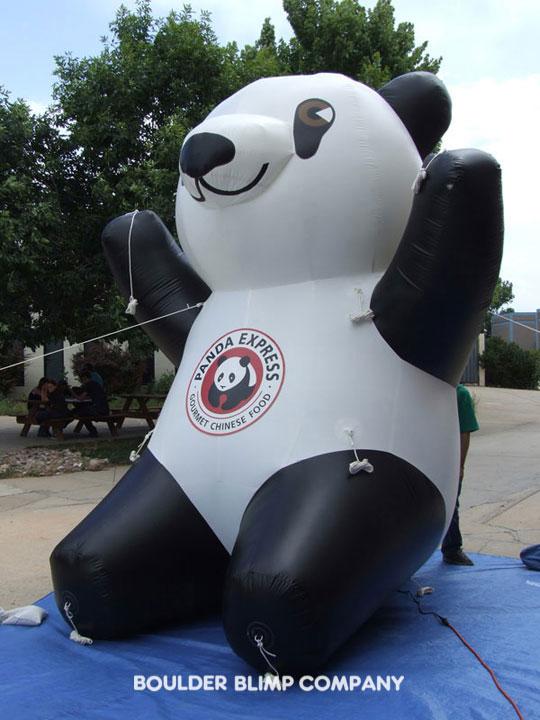 Mascots Boulder Blimp Custom Inflatables Product