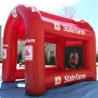 State Farm Inflatable Baseball Pitch