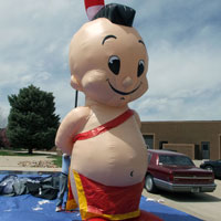 Tommy Mohawk Inflatable Character