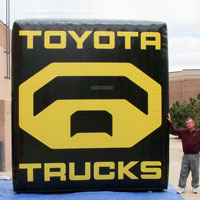 Toyota Inflatable Billboard