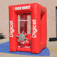 Digicel Inflatable Cash Vault