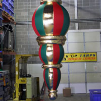Hanging Holiday Inflatable Ornament