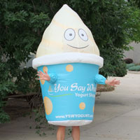 You Say When Yogurt Inflatable Costume