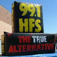 HFS Radio Call Letters Billboard