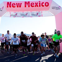 Komen New Mexico Inflatable Arch