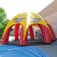 WNRQ Inflatable Radio Pavillion