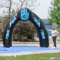 Teva Group Inflatable Arch