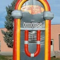 Jukebox Radio Inflatable