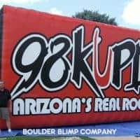 98 KUPD Radio Inflatable Billboard