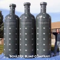 Absolut Inflatable Bottles