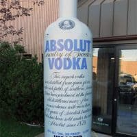 Absolut Inflatable Bottle