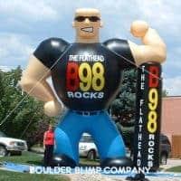 Johnny Rocker Inflatable