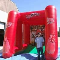 Boston Blazers Inflatable Booth