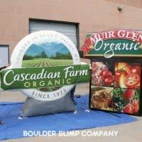 Cascadian Farm Logo Inflatable