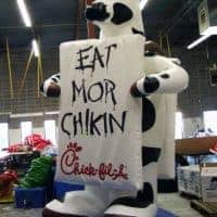 Chick-fil-A Cow Inflatable