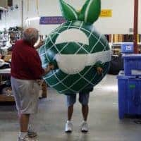 Comcast Inflatable Costume