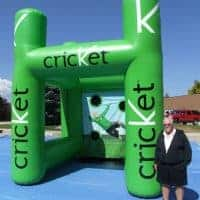 Cricket Inflatable Sports Booth
