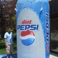 Diet Pepsi EZ-Carry Inflatable