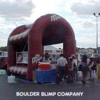 Dr. Pepper Sports Booth Inflatable