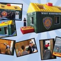 The Original Inflatable Fire Safety Education House