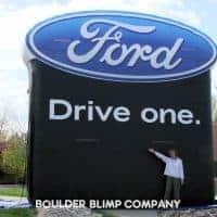 Ford Logo Inflatable Billboard