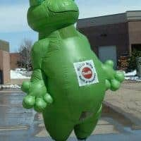 Frog Inflatable Costume