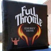 Full Throttle Inflatable Billboard