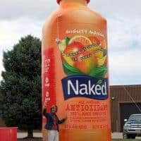 Naked Juice Inflatable