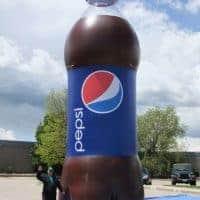 Inflatable Pepsi Bottle