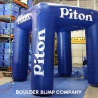 Piton Misting Inflatable Booth