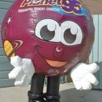 Planet Inflatable Radio Costume