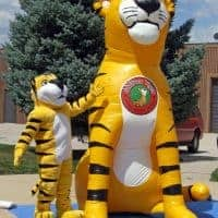 Saffron Tiger Inflatable