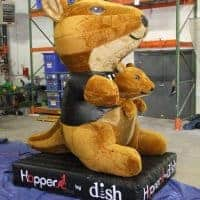 Dish Kangaroo Hopper Inflatable
