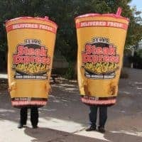 Texas Steak Express Inflatable Costumes