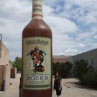 Captain Morgan Inflatable Bottle