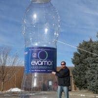 Evamor Water Inflatable Bottle