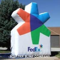 FedEx Beacon Inflatable