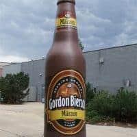 Gordon Biersch Marzen Auburn Lager Inflatable Bottle