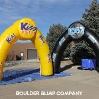 Kiss 95.1 FM Inflatable Archway