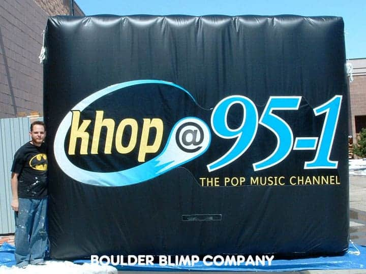 Publicize Your Radio Station With Inflatable Advertising