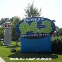WMJC Radio Balloon