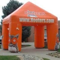 Hooters Inflatable Tent